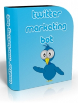 Product picture Twitter Marketing Bot (PLR)